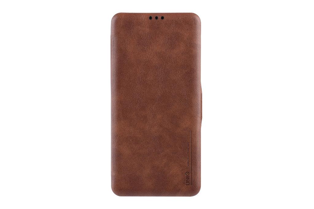 UNIQ Accessory Book Case voor Samsung Galaxy S10 - Bruin