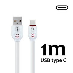 UNIQ Accessory Type-C Kabel Fast charging/data transfer - Wit