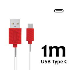 Type-C Kabel 1m UNIQ Accessory 2.1A - Wit (8719273250624 )