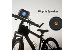 W-KING S8 Waterproof Bluetooth speaker - bike speaker - Silver
