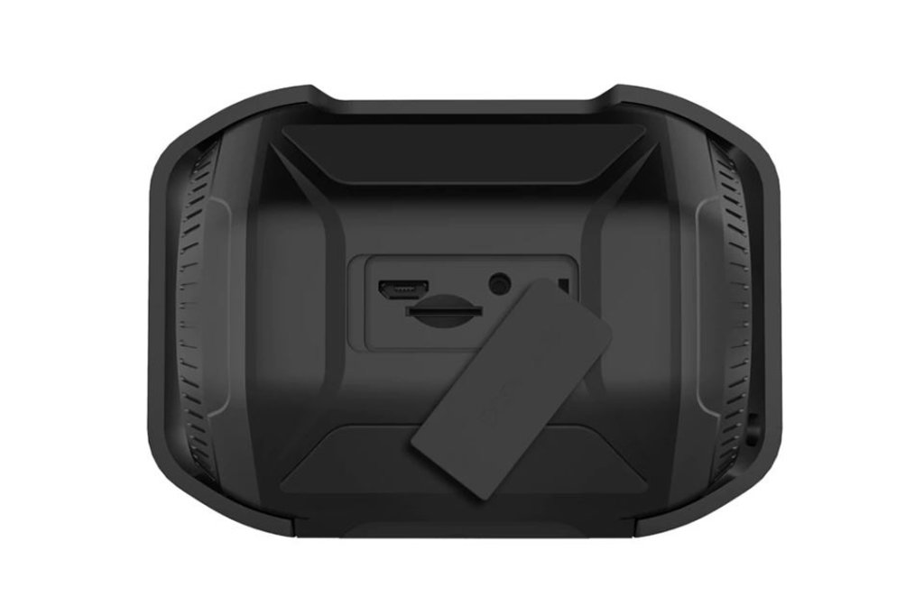 W-KING S8 Waterproof LED Bluetooth speaker - Black
