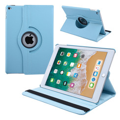 Apple iPad Air 2 tablet hoes - book case L Blauw