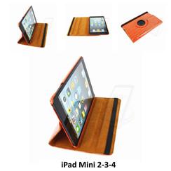 Apple Orange Book Case Tablet for iPad Mini 2-3-4