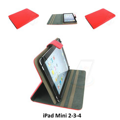 Apple Rood Book Case Tablet voor iPad Mini 2-3-4