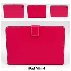 Apple Hot Pink Book Case Tablet for iPad Mini 4