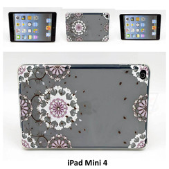 Apple Print Book Case Tablet for iPad Mini 4
