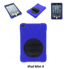 Apple Blue Back Cover Tablet for iPad Mini 4