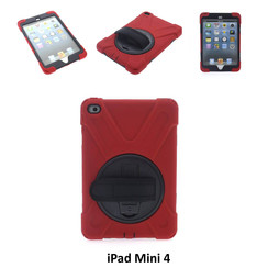 Apple Red Back Cover Tablet for iPad Mini 4