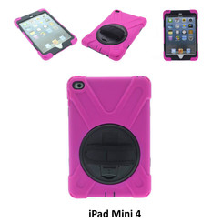 Apple Hot Pink Back Cover Tablet for iPad Mini 4