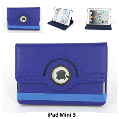 Apple Blue Book Case Tablet for iPad Mini 3