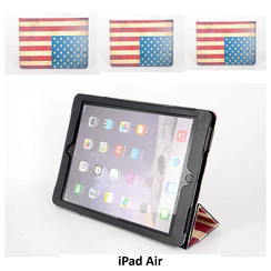 Apple Print Book Case Tablet voor iPad Air