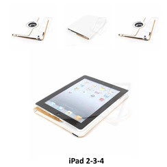 Apple Wit Book Case Tablet voor iPad 2-3-4