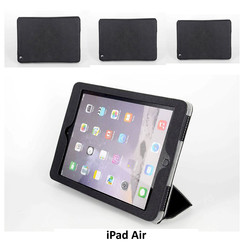 Apple Zwart Book Case Tablet voor iPad Air