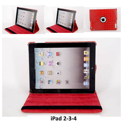 Apple Red Book Case Tablet for iPad 2-3-4