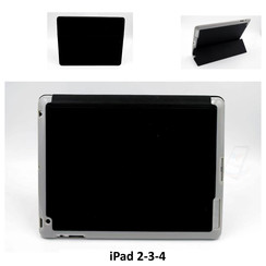 Apple Zwart Book Case Tablet voor iPad 2-3-4