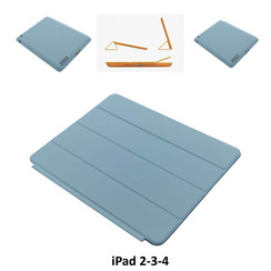 Apple L Blauw Book Case Tablet voor iPad 2-3-4