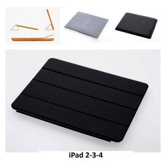 Apple Zwart Book Case Tablet voor iPad 2-3-4