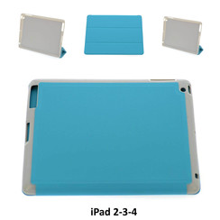 Apple Blauw Book Case Tablet voor iPad 2-3-4