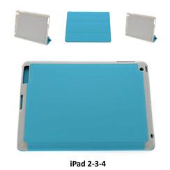 Apple Tablet Housse Bleu pour iPad 2-3-4