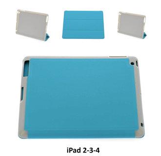 Apple Blauw Book Case Tablet voor iPad 2-3-4