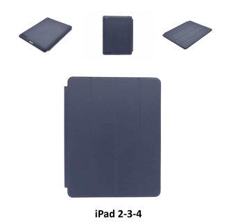 Apple D Blauw Book Case Tablet voor iPad 2-3-4