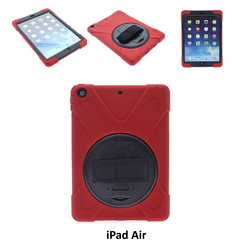 Apple Red Back Cover Tablet for iPad Air