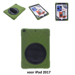 Apple Back Cover Tablet D Vert pour voor iPad 2017