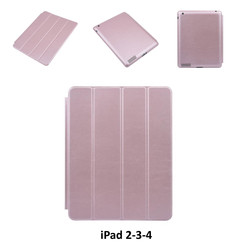 Apple Rose Gold Book Case Tablet for iPad 2-3-4