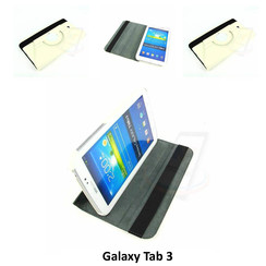 Samsung White Book Case Tablet for Galaxy Tab 3