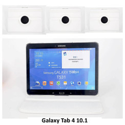 Samsung White Book Case Tablet for Galaxy Tab 4 10.1 inch