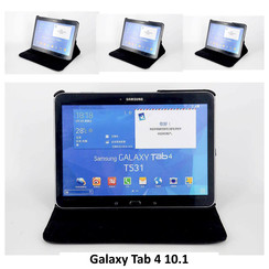 Samsung Zwart Book Case Tablet voor Galaxy Tab 4 10.1 inch