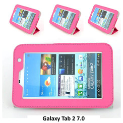 Samsung Pink Book Case Tablet for Galaxy Tab 2 7.0