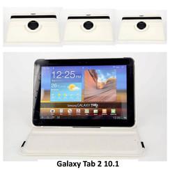 Samsung Tablet Housse Blanc pour Galaxy Tab 2 10.1