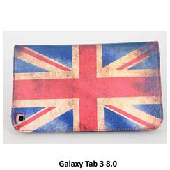 Samsung Print Book Case Tablet voor Galaxy Tab 3 8.0