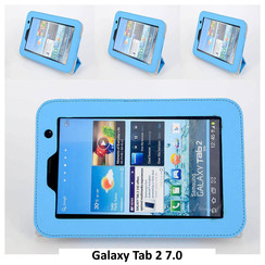 Samsung L Blue Book Case Tablet for Galaxy Tab 2 7.0