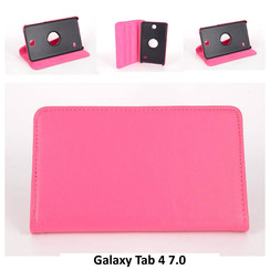 Samsung Roze Book Case Tablet voor Galaxy Tab 4 7.0