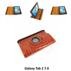 Samsung Brown Book Case Tablet for Galaxy Tab 2 7.0