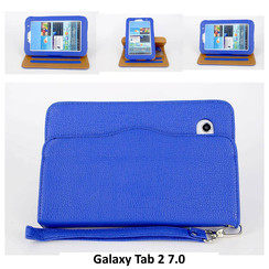 Samsung Blue Book Case Tablet for Galaxy Tab 2 7.0