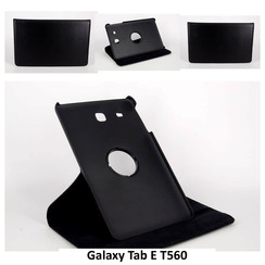Samsung Tablet Housse Noir pour Galaxy Tab E T560