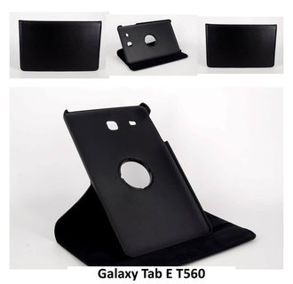 Samsung Black Book Case Tablet for Galaxy Tab E T560