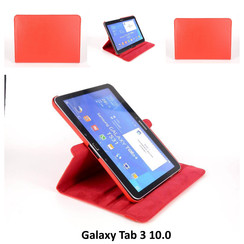 Samsung Red Book Case Tablet for Galaxy Tab 3 10.0