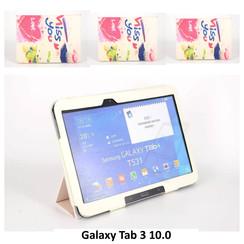 Samsung Print Book Case Tablet voor Galaxy Tab 3 10.0