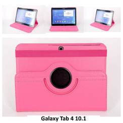 Samsung Pink Book Case Tablet for Galaxy Tab 4 10.1