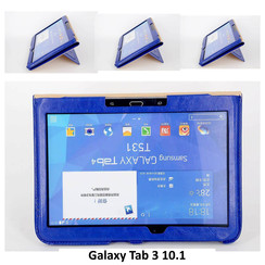 Samsung Blue Book Case Tablet for Galaxy Tab 3 10.1