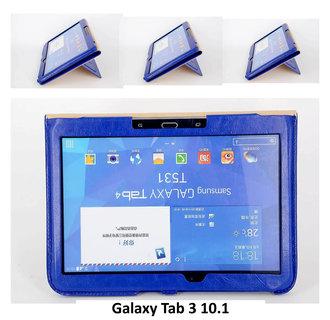 Samsung Blauw Book Case Tablet voor Galaxy Tab 3 10.1