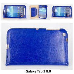 Samsung Blue Book Case Tablet for Galaxy Tab 3 8.0