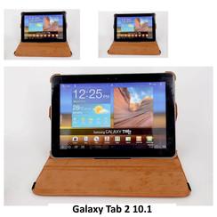 Samsung Bruin Book Case Tablet voor Galaxy Tab 2 10.1