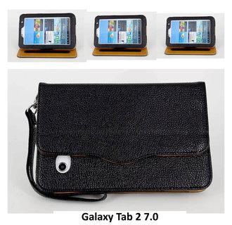 Samsung Zwart Book Case Tablet voor Galaxy Tab 2 7.0