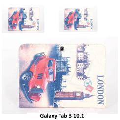 Samsung Print Book Case Tablet for Galaxy Tab 3 10.1