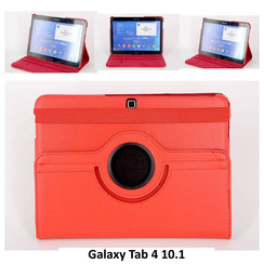 Samsung Rood Book Case Tablet voor Galaxy Tab 4 10.1